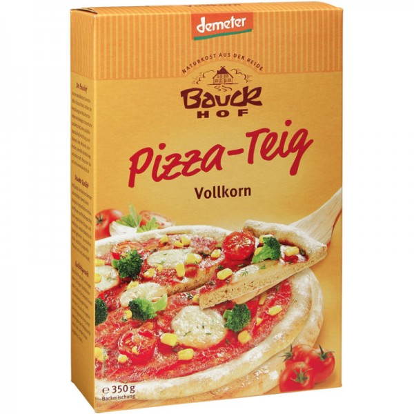 Pizza-Teig Vollkorn Bio, 350g - Bauckhof
