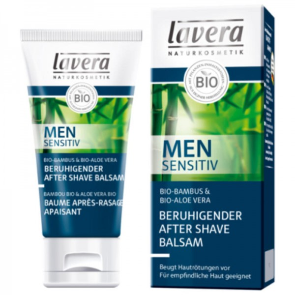 Beruhigender After Shave Balsam Men sensitiv, 50ml - Lavera