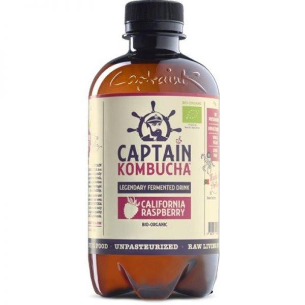 California Raspberry Bio, 400ml - Captain Kombucha
