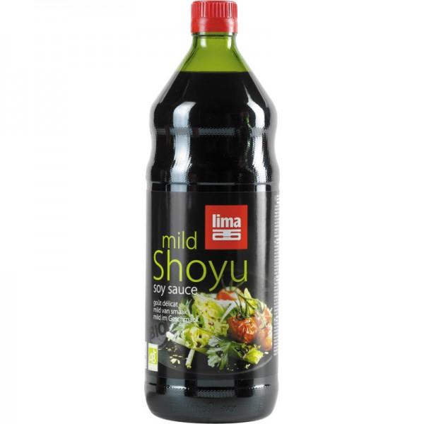 Shoyu mild soya sauce Bio, 1L - Lima