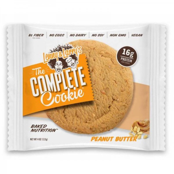 The Complete Cookie Peanut Butter 16g Protein, 113g - Lenny & Larry's