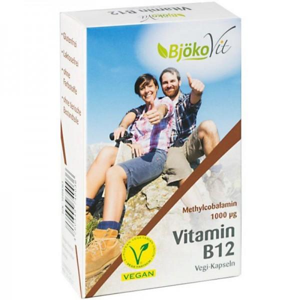 Vitamin B12 Methylcobalamin 1000µg, 60 Stück - BjökoVit