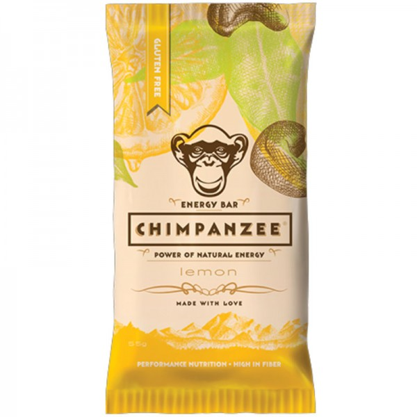 Energy Bar Lemon, 55g - Chimpanzee