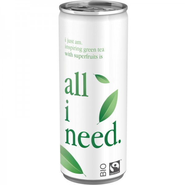 Grüntee Energy Bio, 250ml - all i need