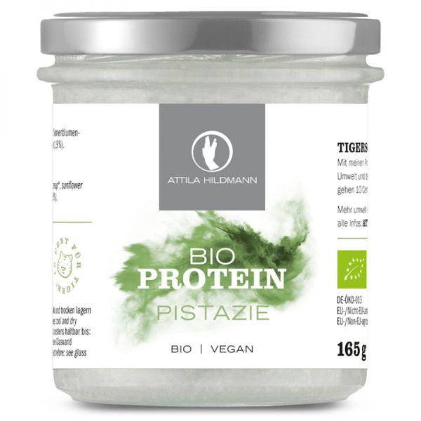 Pistazie Proteinpulver im Glas Bio, 165g - Attila Hildmann