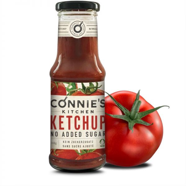 Ketchup classic Bio, 250g - Connie's Kitchen